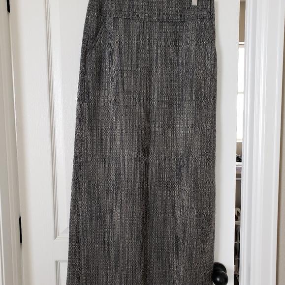 J. Crew Dresses & Skirts - J Crew black and white wool maxi skirt